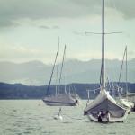 Glücksmütter-Starnberger-See-Segelboote